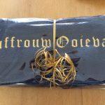 Cadeau idee, handdoek voor aan boord met scheepsnaam, door ZijHaven3, borduurstudio Lemmer