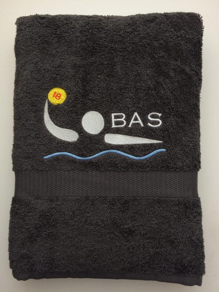 Gift idea, personalized towel, by ZijHaven3, borduurstudio Lemmer
