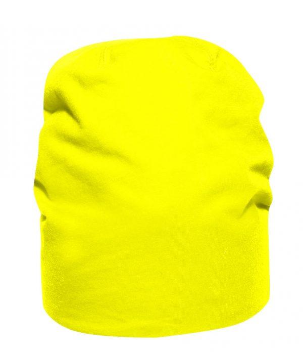 Muts sporty beanie signaal geel Friese Paarden / Friesian Horses, van ZijHaven3,bordurrstudio Lemmer