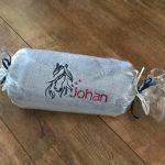 Cadeau idee, handdoek met naamborduring, door ZijHaven3, borduurstudio Lemmer