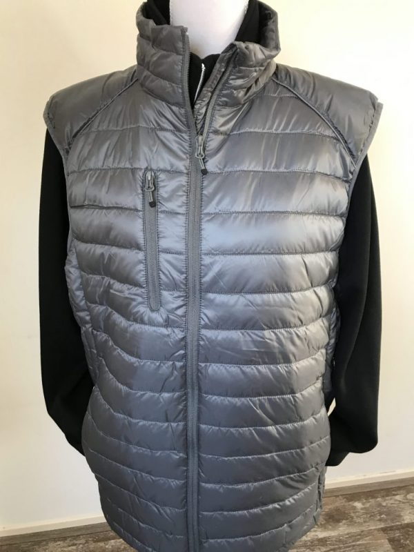 Paardensport, gewatteerde bodywarmer, door ZijHaven3, borduurstudio Lemmer