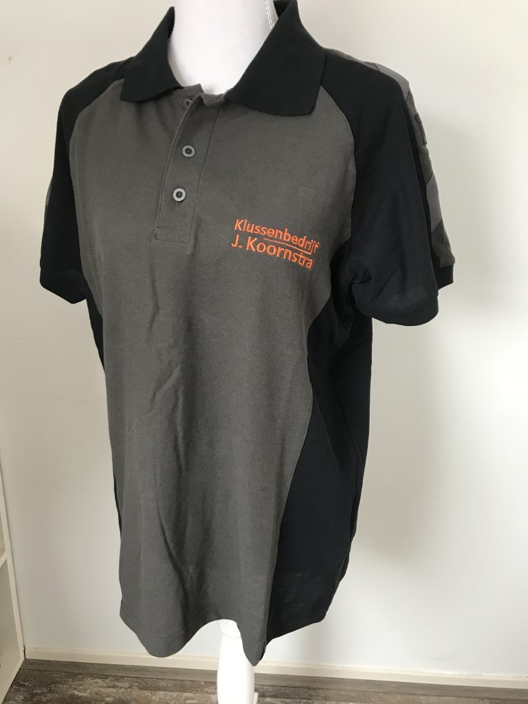 Company gear, polo with company logo, by ZijHaven3, borduurstudio Lemmer