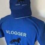 Officieel Vlogger shirt & cap Facebook groep Friese Paarden/ Frisian Horses, door ZijHaven3, borduurstudio Lemmer
